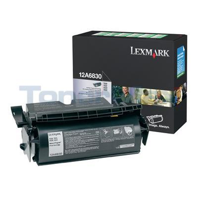 LEXMARK T520 TONER CARTRIDGE BLACK RP